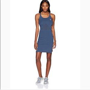 PUMA NWT Blue Athletic Sport Dress Size M